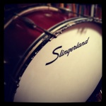 Before: The old Slingerland logo