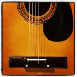 Martin Silk & Steel Strings.  What a Beaut.